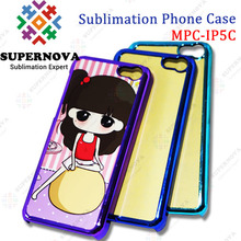 Cheap Sublimation Mobile Phone Case for iphone 5c