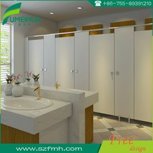 Fumeihua anti impact hpl panel toilet partition with accessories