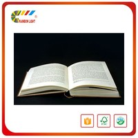 Low price promotional free design offset printing hardcover china book publisher