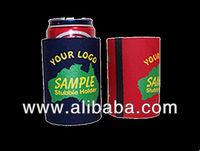 Stylish neoprene beer stubby holder and can cooler