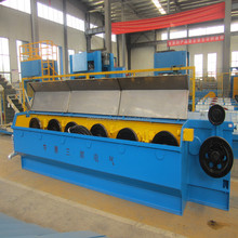 Copper Rod Breakdown wire drawing machine with annealer machine