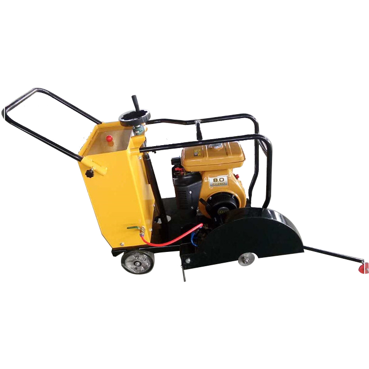 single blade concrete floor cutter road surface cutting slab cutter machine