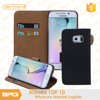 Flip stand bag shell case for Samsung S6 edge