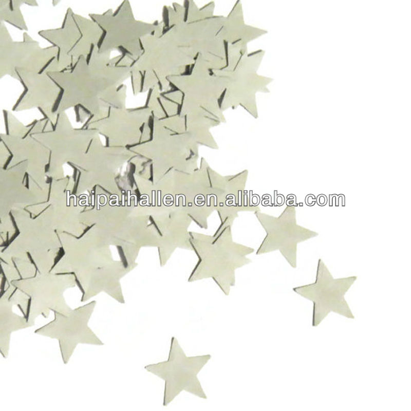 Star Die Cuts Paper throwing confetti wedding paper confetti