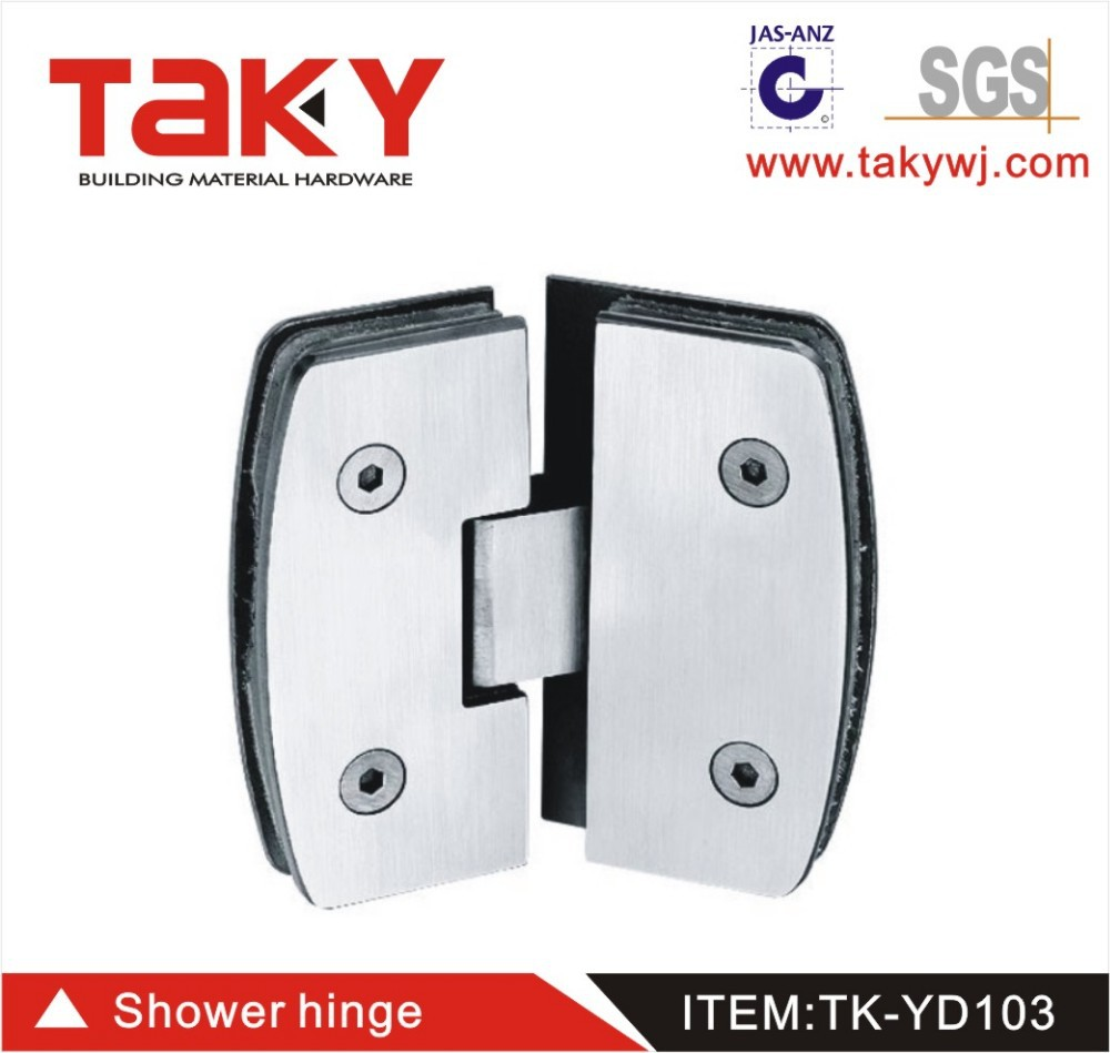 best quality stainless steel shower bath screen hinge