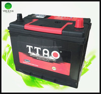 12 volt car battery good prices in China 48D26 JIS Standard