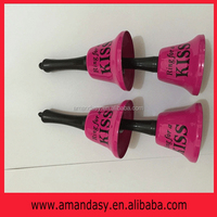 New arrival!!! Pink metal Ring for a KISS bell,Hen, bride & stage party accessory gift RB001