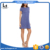 alibaba hot selling products cap sleeve knit blue color t shirt dress