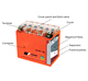 Wholesale 12v 2.5ah motorcycle battery with factory price best motorcycle battery brand