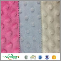 Alibaba China supplier customized fabric bubble velboa pillows wholesale