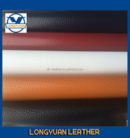 2015 the newest litchi grain Imitated microfiber for shoes in wenzhou china manufacturer