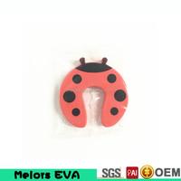 Melors eco friendly new design EN-71-3 certificate safety baby products unique cute eva foam door stopper