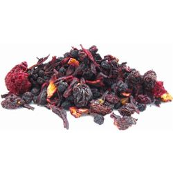 Freshly custom blend Mixed Berry Herbal Tea