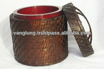 Rattan Ice box from Vang Lung