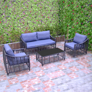 Outdoor patio furniture sofa set garden use PE rattan/wicker sofa