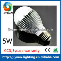 Epistar chip CE , ROHS 5W professional after-sale policy car led bulb with 3 years warranty