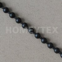 Plastic Chain No.10 4.5x6 Black Cortinas Rollo