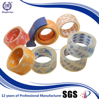 OEM Factory Offer Printed Paper Core Crystal Clear Adhesive Tape
