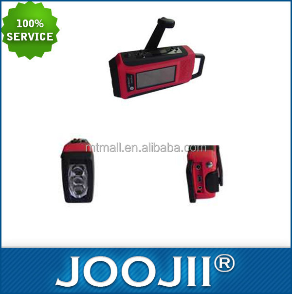 2015 New Design AM/FM/NOAA Radio With LED Light, Waterproof Portable Mini FM Radio Support USB