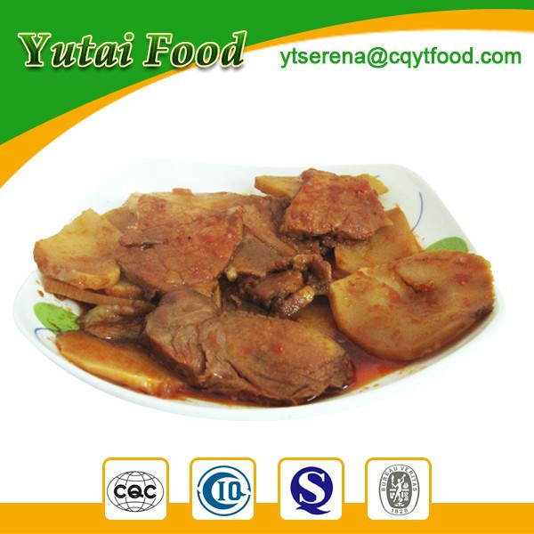 High Quality Sliced Pork in Szechuan Style Tang Brand