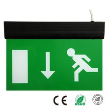 Double Sided LED Emergency Luminous Fire Exit Safety Signs