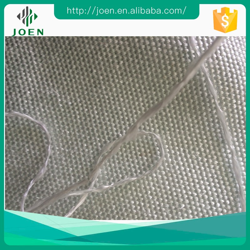 fireproof bulk fiberglass yarn made fabric for ship equipment heat insulation