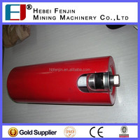 Durable High Performance Conveyor Belt Support Roller Trough Roller For Mining