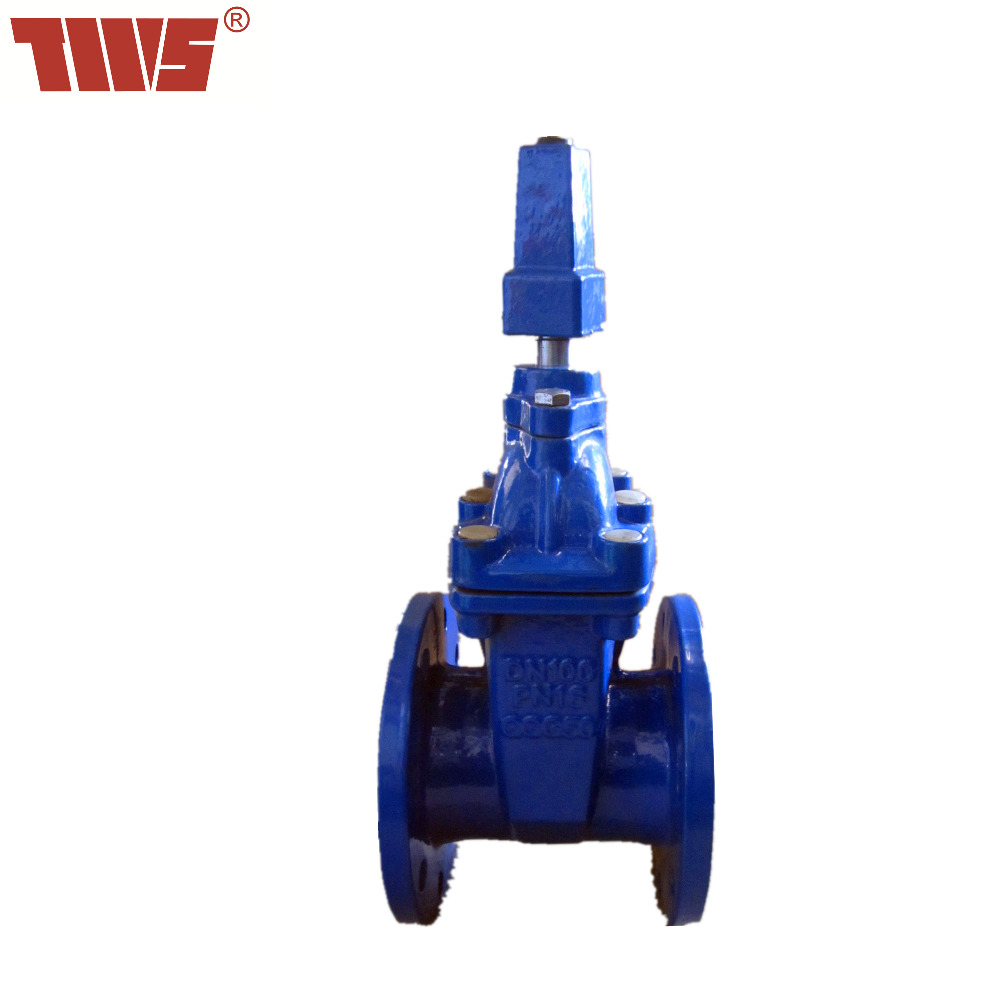 DN65-DN300 ductile iron resilient seated Gate <strong>Valve</strong> for sewage and oil made in China of Tianjin