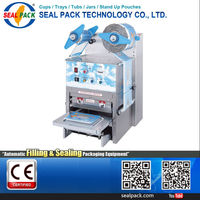 Taiwan Supplier cup aluminium container seal machine