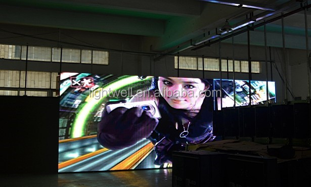 p8 outdoor LED Advertising Board with slim cabinet