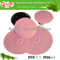 100% Food Grade Endurable Wholesale Flexible Silicone Tin Can Lid