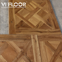 Oiled High Value Parquet Flooring Wood