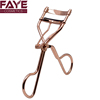 Wholesale Private Label Professional Manual Makeup Tool Carbon/Stainless Steel Metal Rose Gold Color Eyelash Curler
