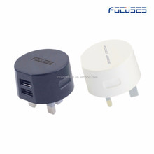 wholesale uk CE RoHS Certificated high quality 5V 2A UK Plug portable phone usb charger wall mount charger alibaba