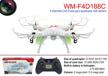 quadcopter kit 2.4G 4 channel 6 axis rc quadcopter with LED light rc drone