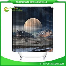 Wholesale Simple Design Machine Washable Shower Curtain