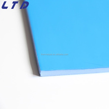 Stable and good performance silicone rubber gap filler thermal conductive silica slice