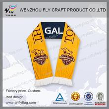 Hot selling acrylic football sport scarf