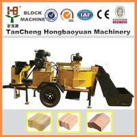 clay block brick making equipment for building house M7MI Super interlocking red mud making from Factory supplier