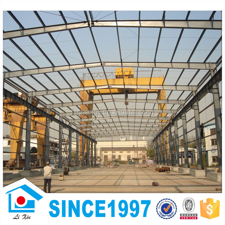 Short Building Cycle Light Steel Beam Structure House