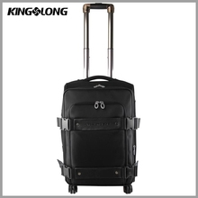 American style multifunctional big lots leaves king travel bag trolley luggage