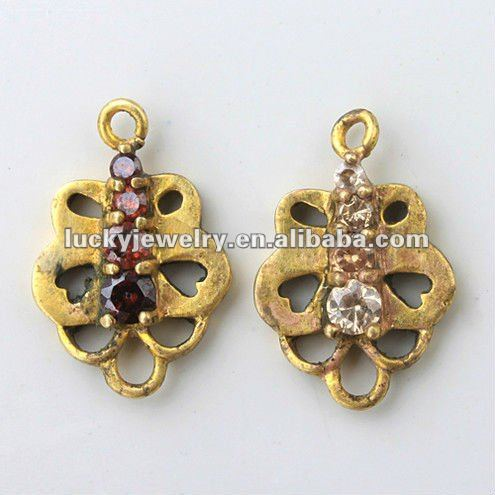 Gold Plated Women Fashion Make Acrylic Pendants for Women Jewelry Earrings and Necklace Wholesale