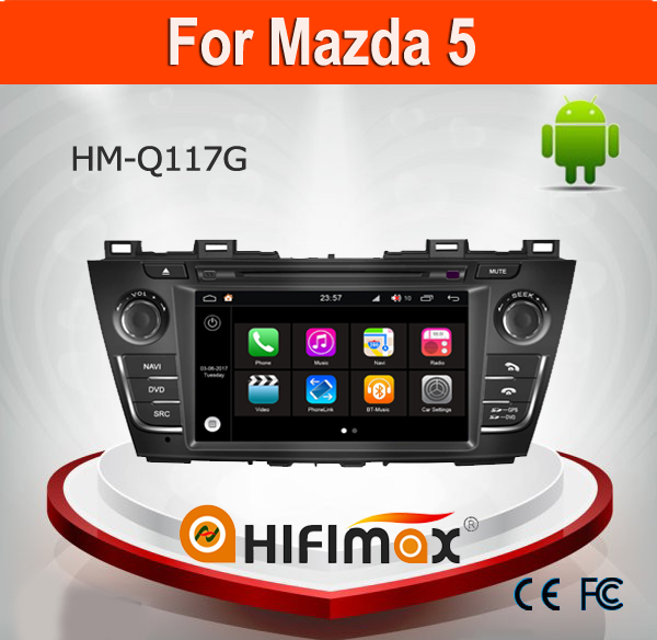 Hifimax Android 7.1 Car DVD Player For Mazda 5 Car Radio GPS Navigation System Multimedia With SD Card bluetooth wifi 3G