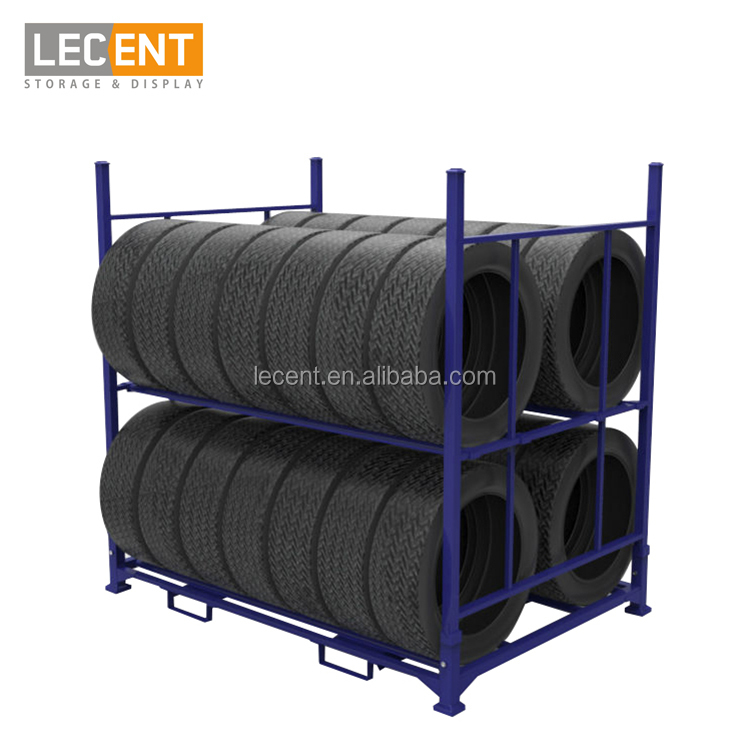 Lecent Warehouse PCR tire storage <strong>rack</strong> tyre <strong>rack</strong>