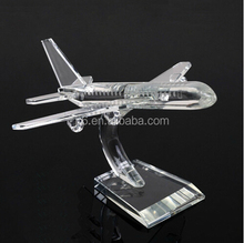 Excellent K9 Crystal Airplane Model Wholesale