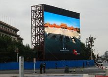 Express Hot LED Display Panels P10 DIP Outdoor Full Color LED Screen 960*960mm LED Panel Cabinets large Video Led Display