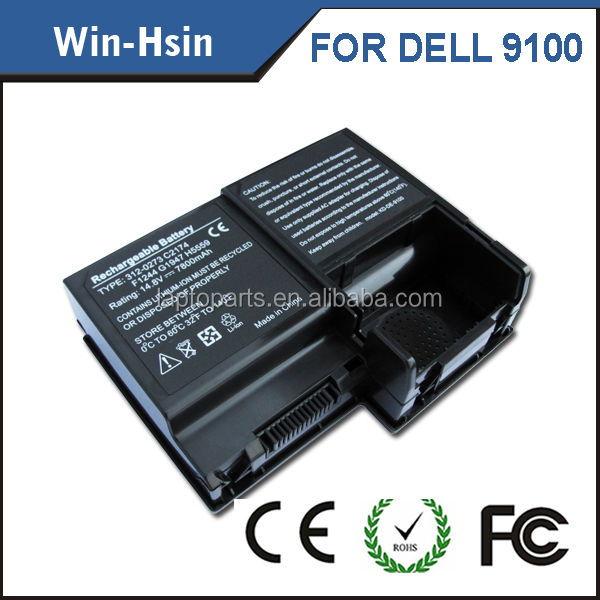 standard battery li-ion type laptop battery repair machine for dell 9100 series