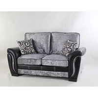 Bella Garden Black Big Corner Sectional