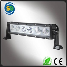 12v 13.5inch 60w spot beam flood beam combo beam single stack front led light bar