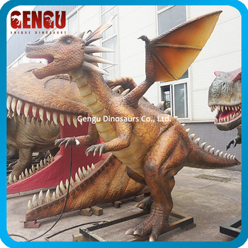 Playground Equipment Artificial Robotic Monster Model